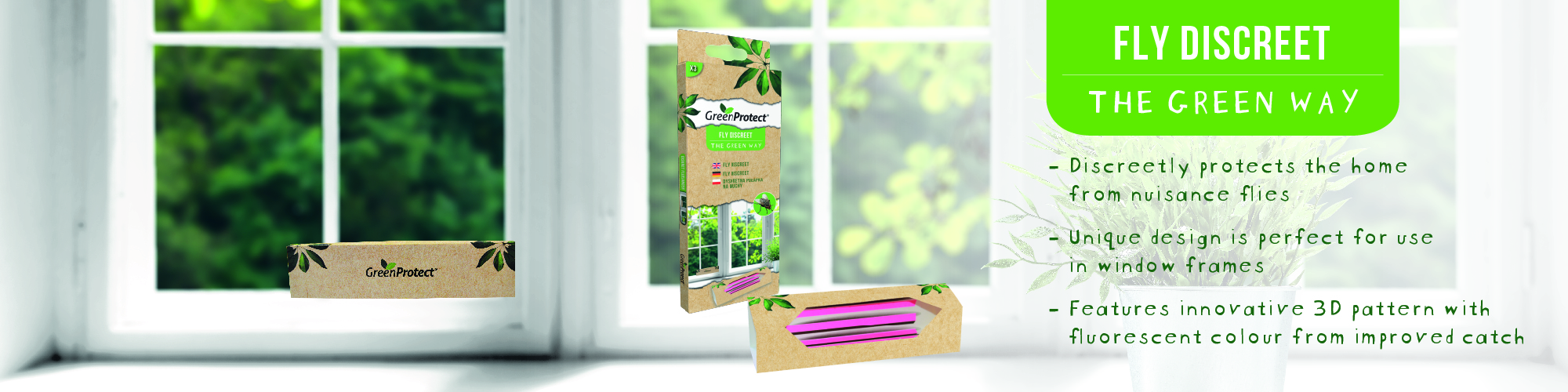 Green Protect Fly Discreet EN banner