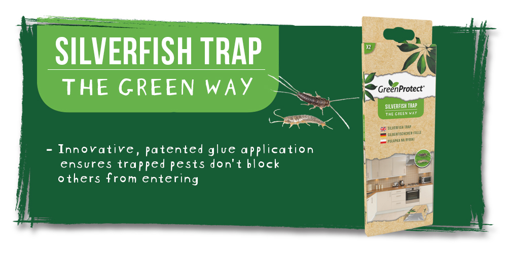 Green Protect Silverfish Trap EN